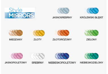 Szkła Transitions 1.50 XTRActive Style Mirrors